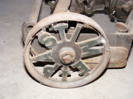 Value of Pastime Rotary Mower - wheel