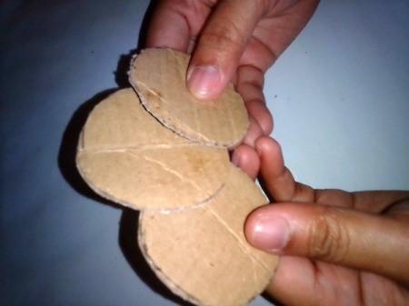 Glass Jar Candle Holder - three cut circles