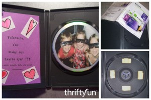 DVD Case Valentine's Day Card