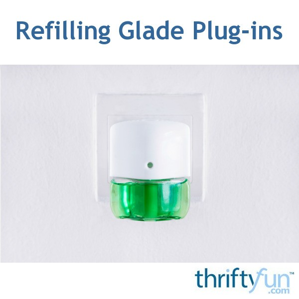 How Do Diffusers Work >> Refilling Glade Plug-ins | ThriftyFun