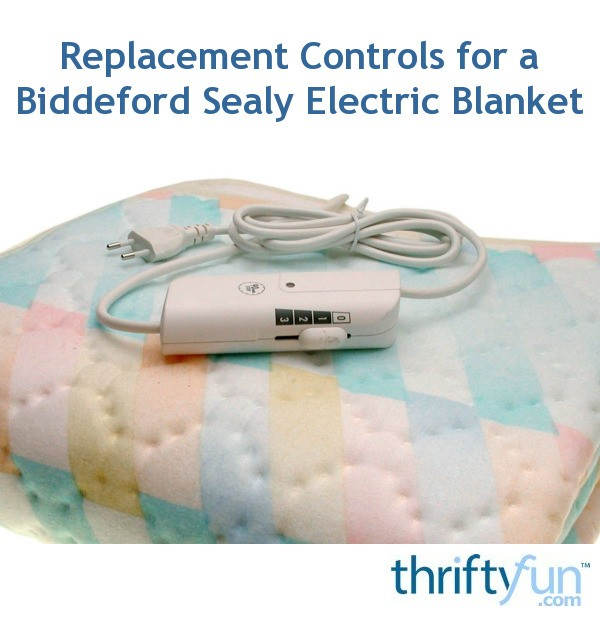 Replacement Controls For A Biddeford Sealy Electric