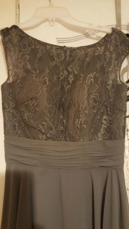 Dyeing a Bridesmaid Dress