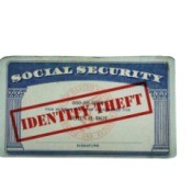 Photo of a social security card.
