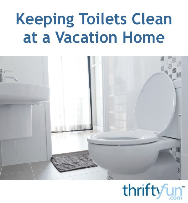 Tremendous Keeping Toilets Clean At A Vacation Home Thriftyfun Ibusinesslaw Wood Chair Design Ideas Ibusinesslaworg
