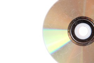 Scratched CD