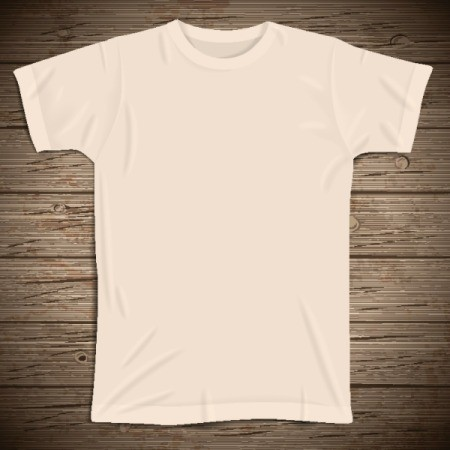 yellowed white t-shirt