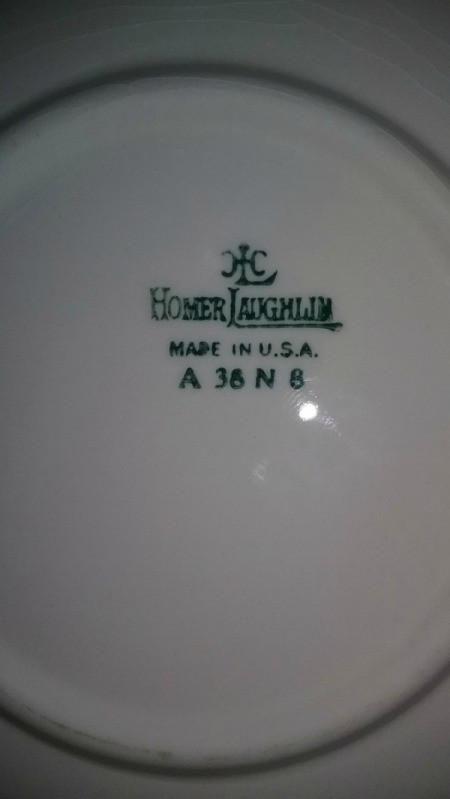 Information and Value of Homer Laughlin Dinnerware