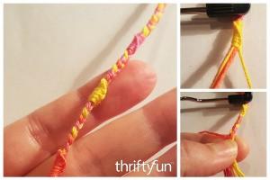 Sherbet Swirl Friendship Bracelet