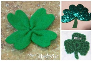 Shamrock Pin Craft Ideas