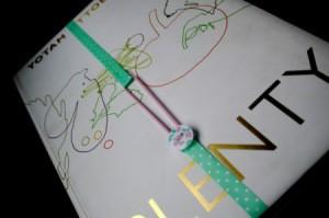 Elasticated Ribbon Bookmark