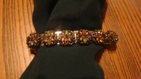 Recycled Jewelry Barrettes