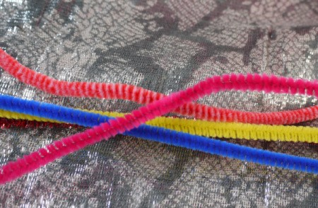 Pipe Cleaner Bracelets - pipe cleaners
