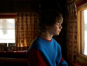 A teen looking sad.