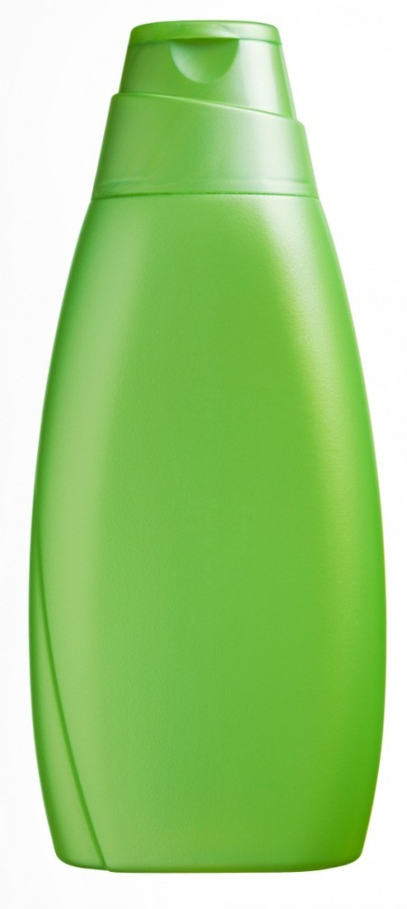 Bottle of cheap shampoo.