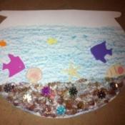 Dr. Seuss Paper Fish Bowl - finished fish bowl
