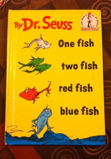 Dr. Seuss Paper Fish Bowl - book