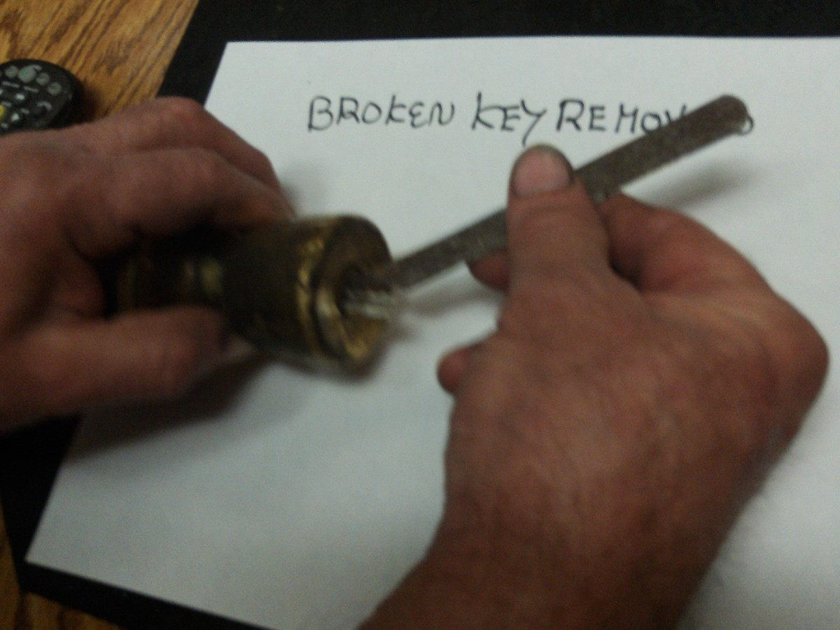 How To Remove Broken Key From Lock >> Removing A Broken Key From A Lock Thriftyfun