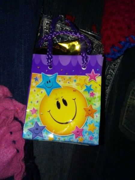 Balloon Weight Bag as Gift Bag