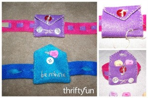 Making a Valentine's Bracelet Purse