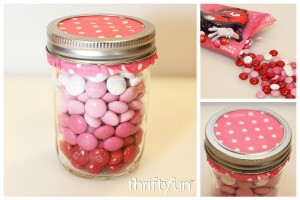 Making an Ombre M&Ms Candy Jar