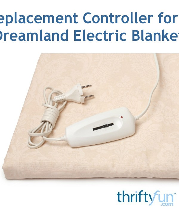 Replacement Controller For A Dreamland Electric Blanket
