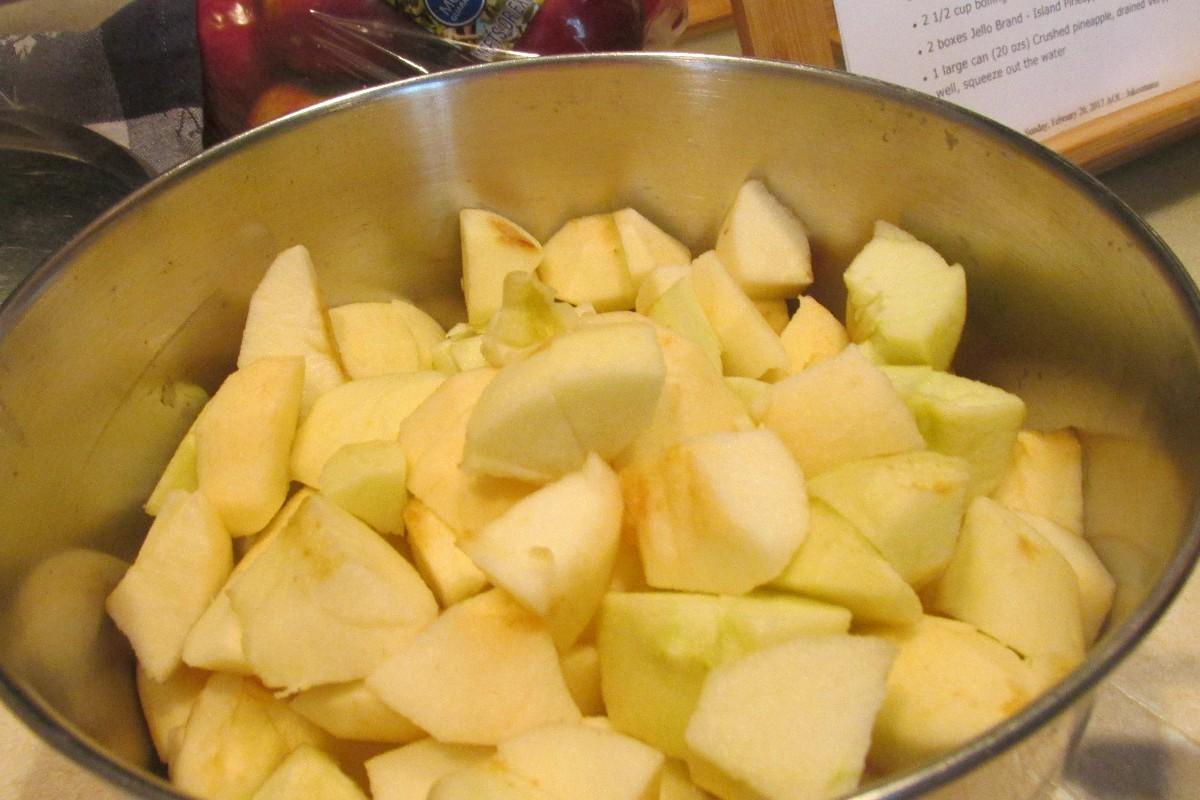 Homemade Chunky Applesauce Recipe