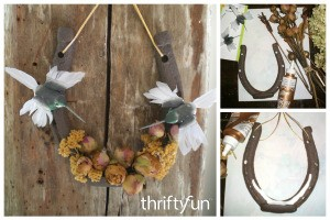 Charming Lucky Horseshoe Craft