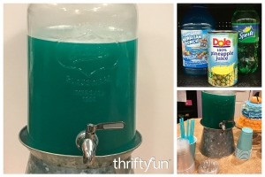 Blue Party Punch (Ocean Water)
