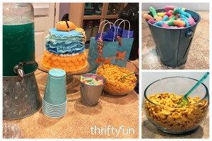 Goldfish Themed Party Snacks