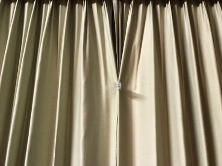 Clip Curtains Closed