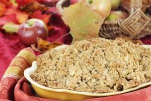 Cranberry Apple Crisp
