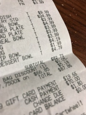 Check Your Receipt for Incorrect Charges