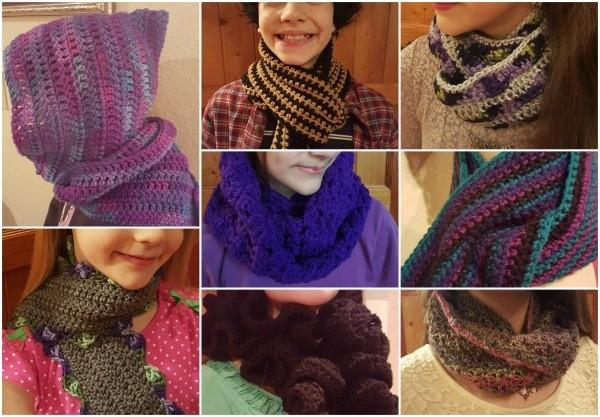 8 Unique Crochet Scarf Patterns | ThriftyFun