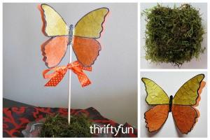 Making a 3D Butterfly Wedding Place Card