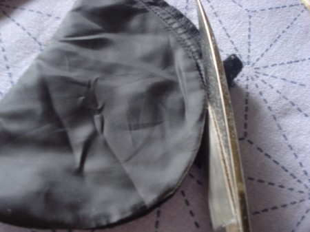 Pot Holders from Shoulder Pads - cut stitches off of the shoulder pad