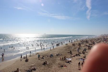 A view of Huntington Beach.