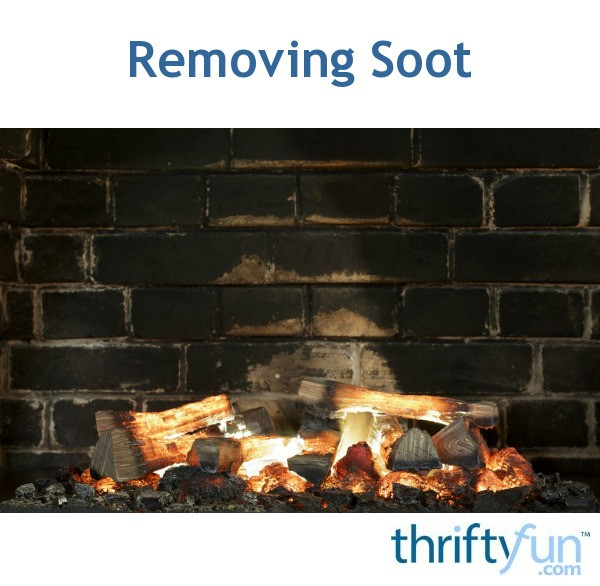 how to clean black soot off walls