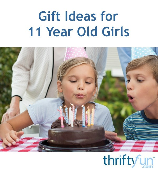 Gift Ideas For 11 Year Old Girls