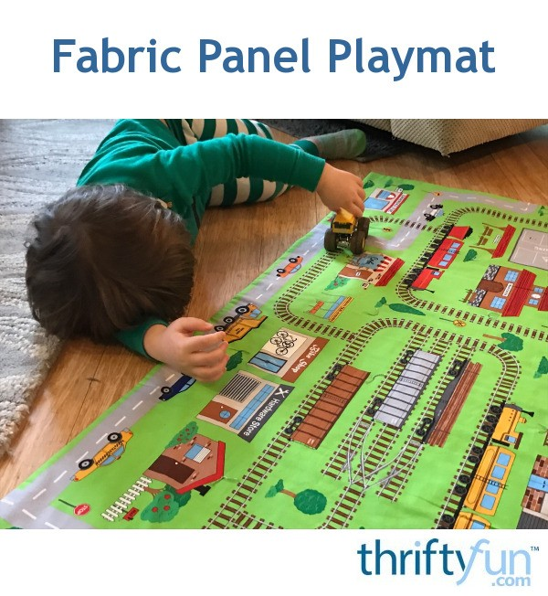 Fabric Panel Playmat Thriftyfun