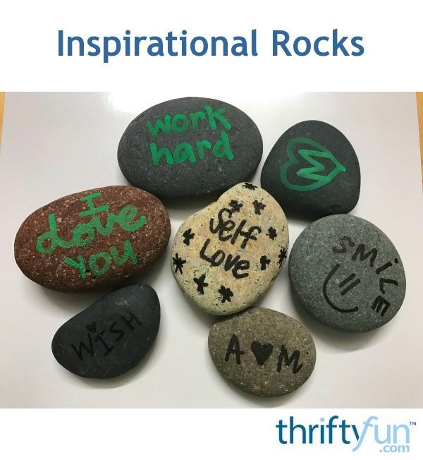 Inspirational Rocks Thriftyfun