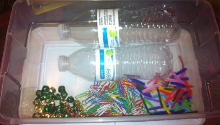 Magnetic Discovery Bottles - supplies