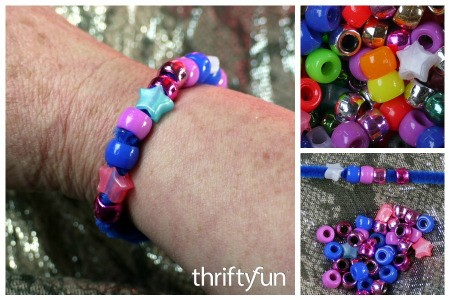 How to Make Beaded Pipe Cleaner Bracelets