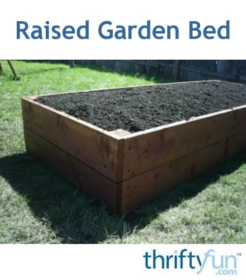 Raised Garden Bed Thriftyfun