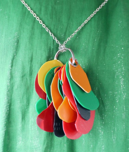 Statement Pendant Necklace - or suspend from a strong neck chain