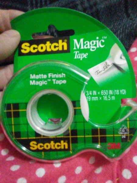 Scotch Magic Tape for Jigsaw Puzzles