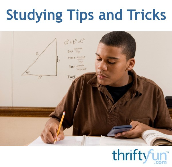 Tips And Tricks To Encourage Better Nutrition: Studying Tips And Tricks