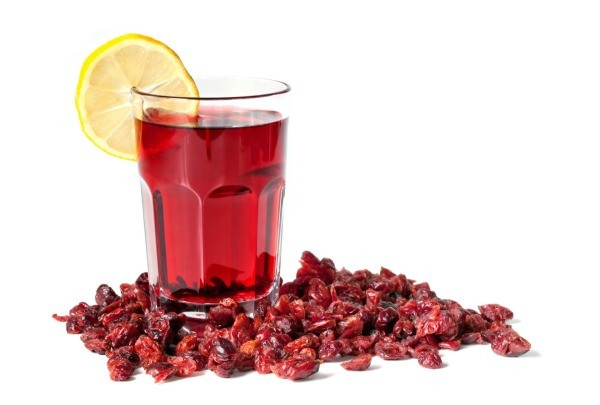 Home remedies for urinary tract infections uti thriftyfun a glass of cranberry juice surrounded with cranberries ccuart Choice Image