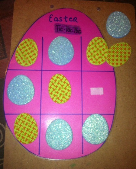 Easter Tic-Tac-Toe - Velcro board