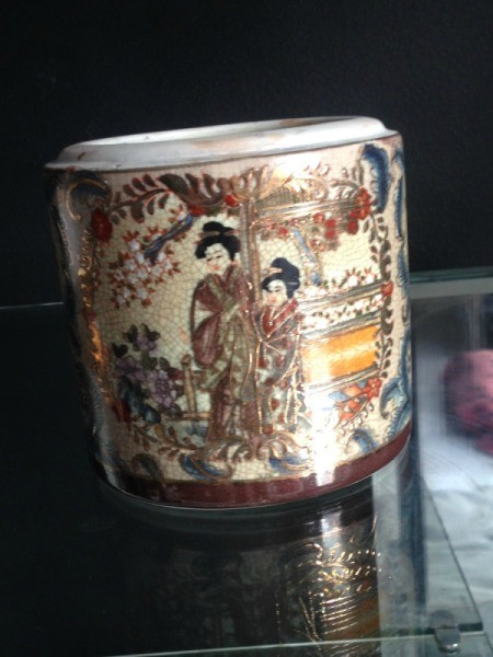 Value and Age of Japanese Motif Covered Jar
