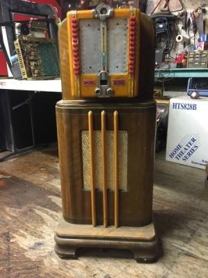 Value of a Wurlitzer Model 123 - old jukebox